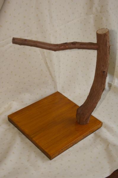 画像6: 流木バードジム(止まり木スタンド)